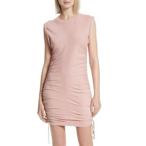 T by Alexander Wang Ruched T-Shirt Dress SZ Large